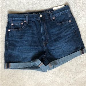 American Eagle Jean Mom Shorts